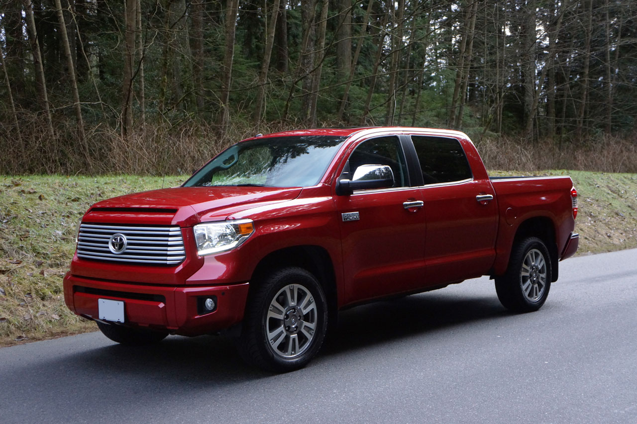 2014 Toyota Tundra CrewMax Platinum Road Test Review. +48