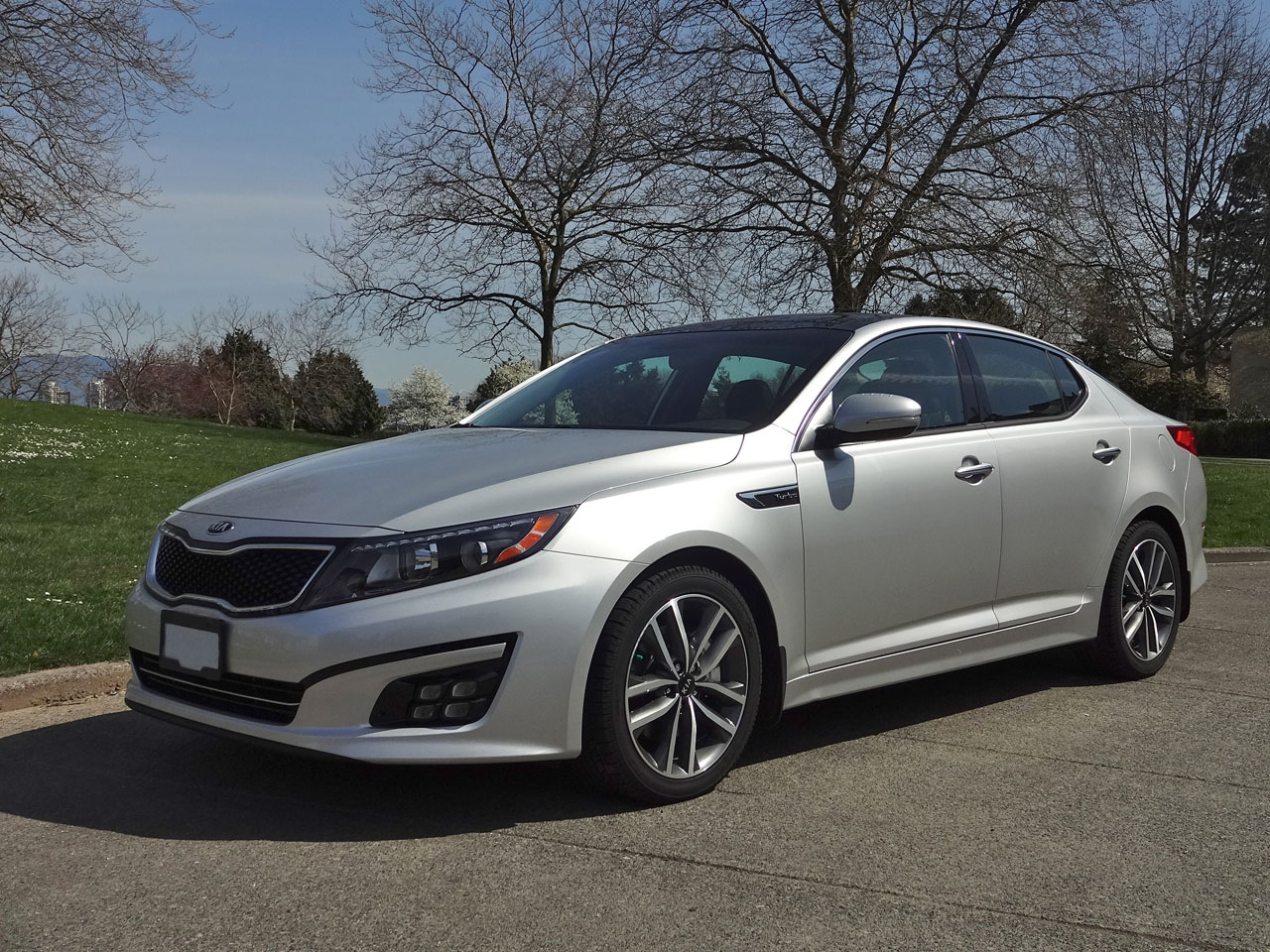 2014 Kia Optima SX Turbo Road Test Review | The Car Magazine