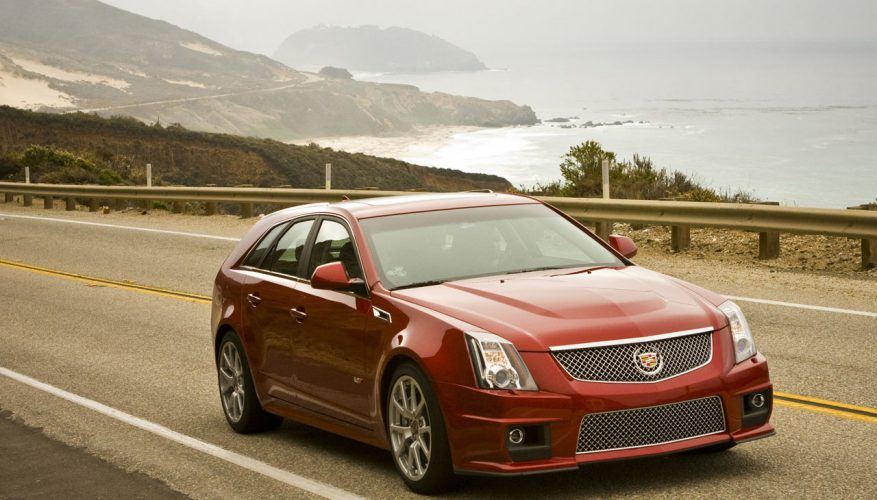 2014 Cadillac Cts V Sport Wagon Road Test Review The Car Magazine