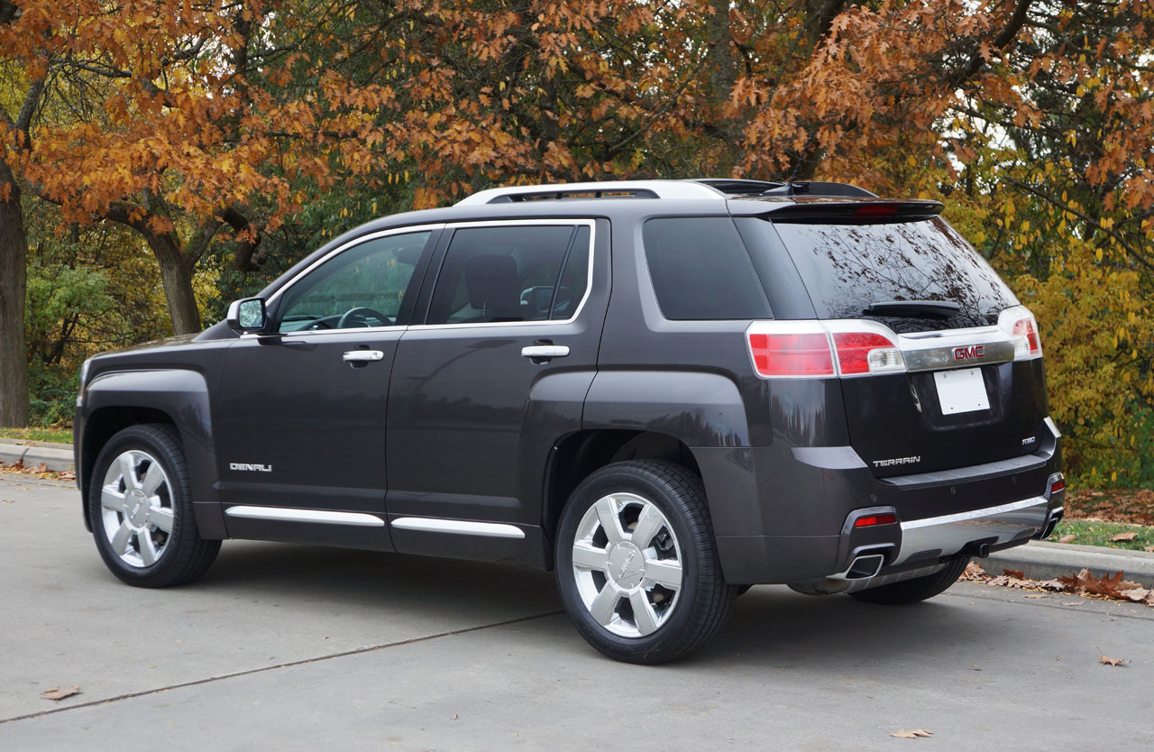 2014 gmc terrain denali v6 awd road test review the car magazine. Black Bedroom Furniture Sets. Home Design Ideas
