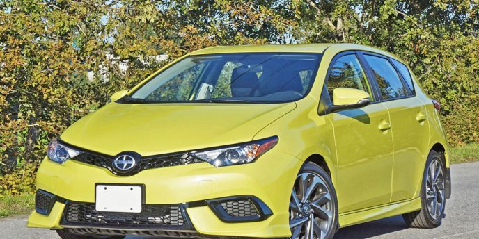 2016 Scion IM CVTi S Road Test Review