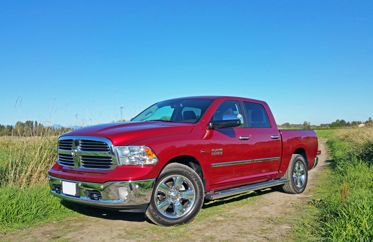 2015 ram 1500 big horn crew cab ecodiesel 4 4 road test review the car magazine. Black Bedroom Furniture Sets. Home Design Ideas