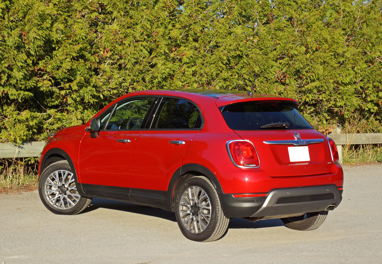 2016 fiat 500x trekking plus awd road test review the car magazine. Black Bedroom Furniture Sets. Home Design Ideas