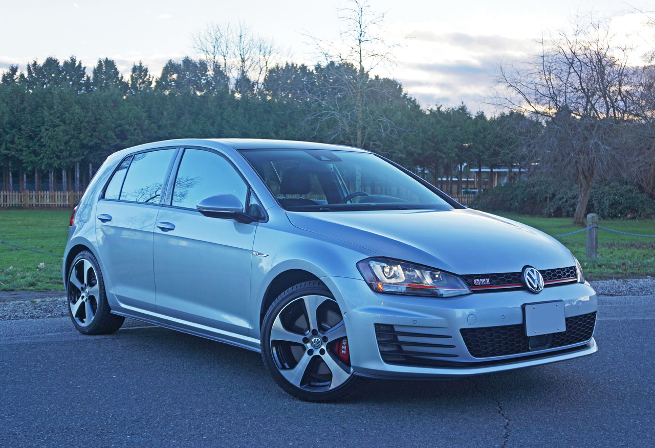 Model 2016 Volkswagen Golf GTI Performance DSG Road Test Review