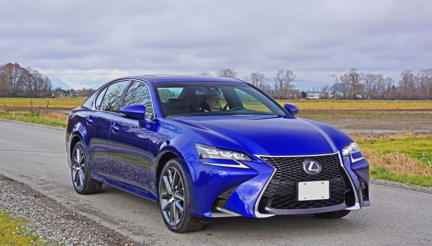 2016 Lexus GS 350 AWD F Sport Road Test Review