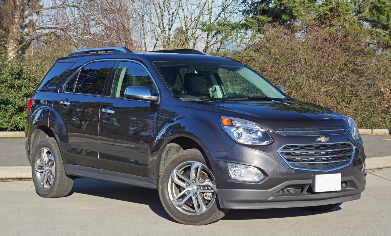 2016 chevrolet equinox ltz awd road test review the car magazine. Black Bedroom Furniture Sets. Home Design Ideas