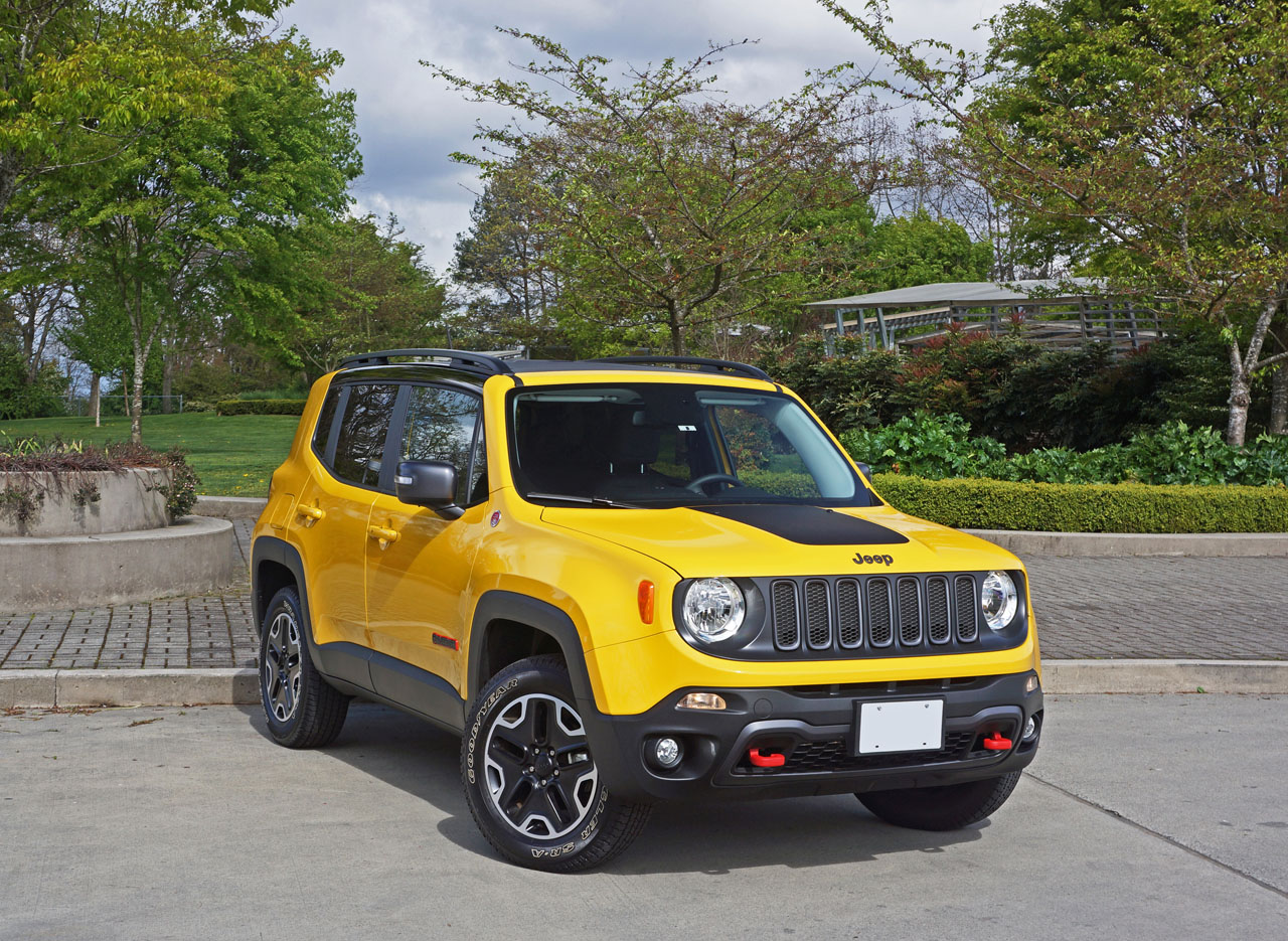 2016 jeep renegade trailhawk road test review the car magazine. Black Bedroom Furniture Sets. Home Design Ideas