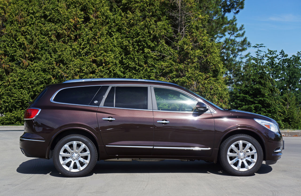 2016 buick enclave premium awd road test review the car magazine. Black Bedroom Furniture Sets. Home Design Ideas