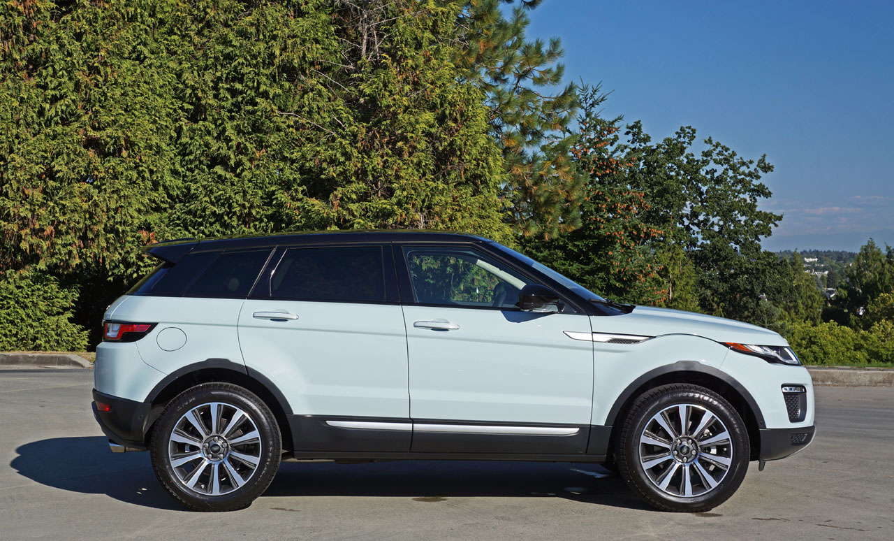 2016 range rover evoque hse si4 road test review the car. Black Bedroom Furniture Sets. Home Design Ideas