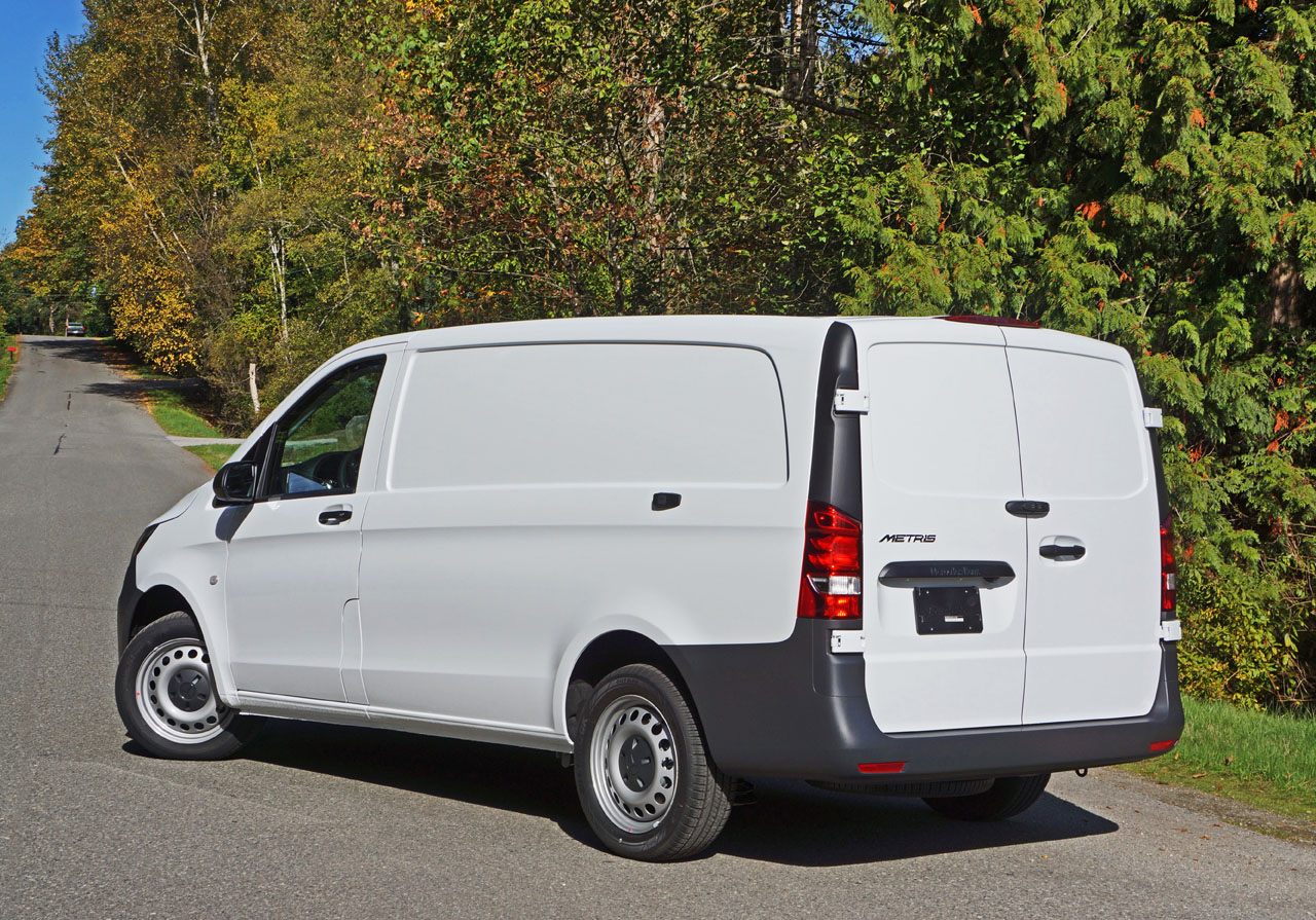 2017 Mercedes Benz Metris Cargo Van Road Test Review The