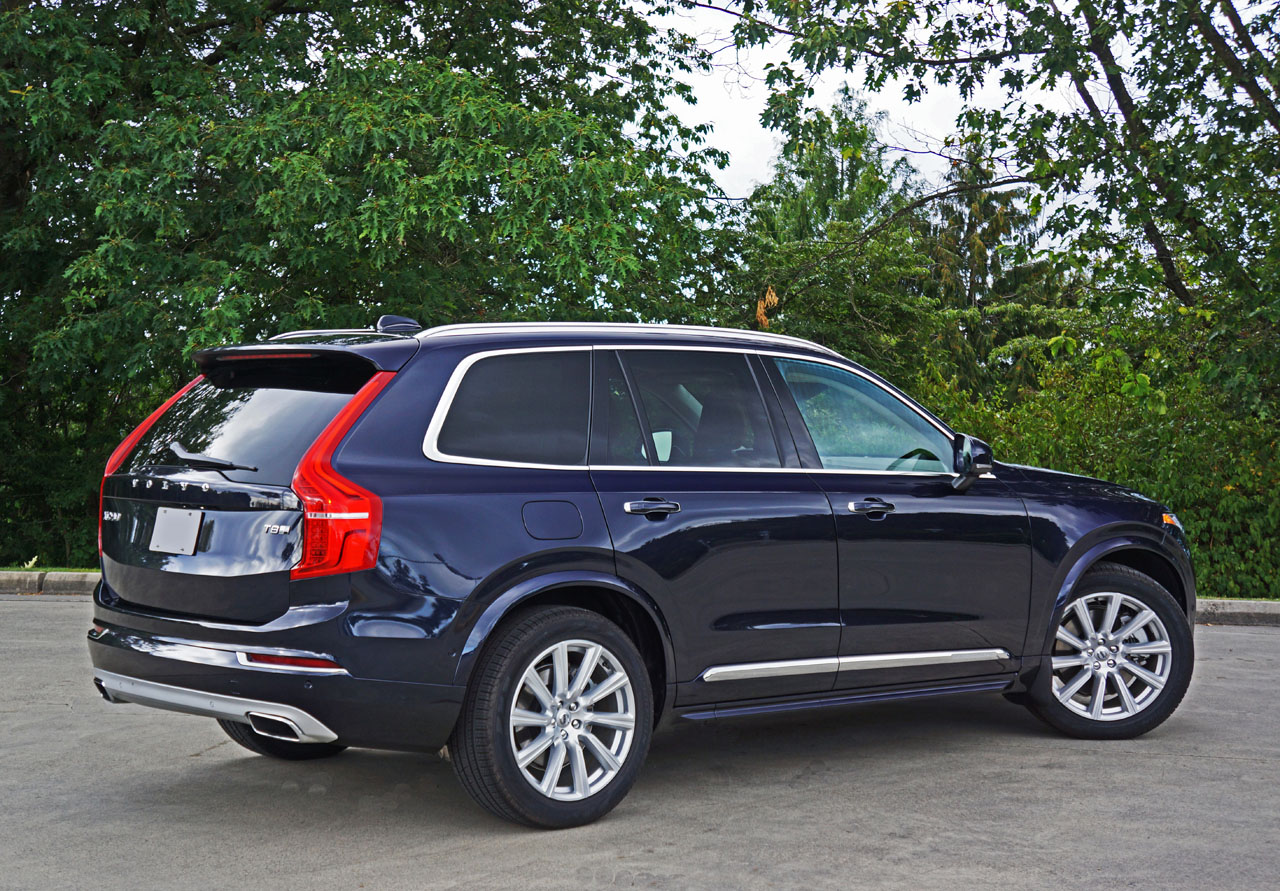 2017 volvo xc90 t8 twin engine eawd inscription road test review the car magazine. Black Bedroom Furniture Sets. Home Design Ideas