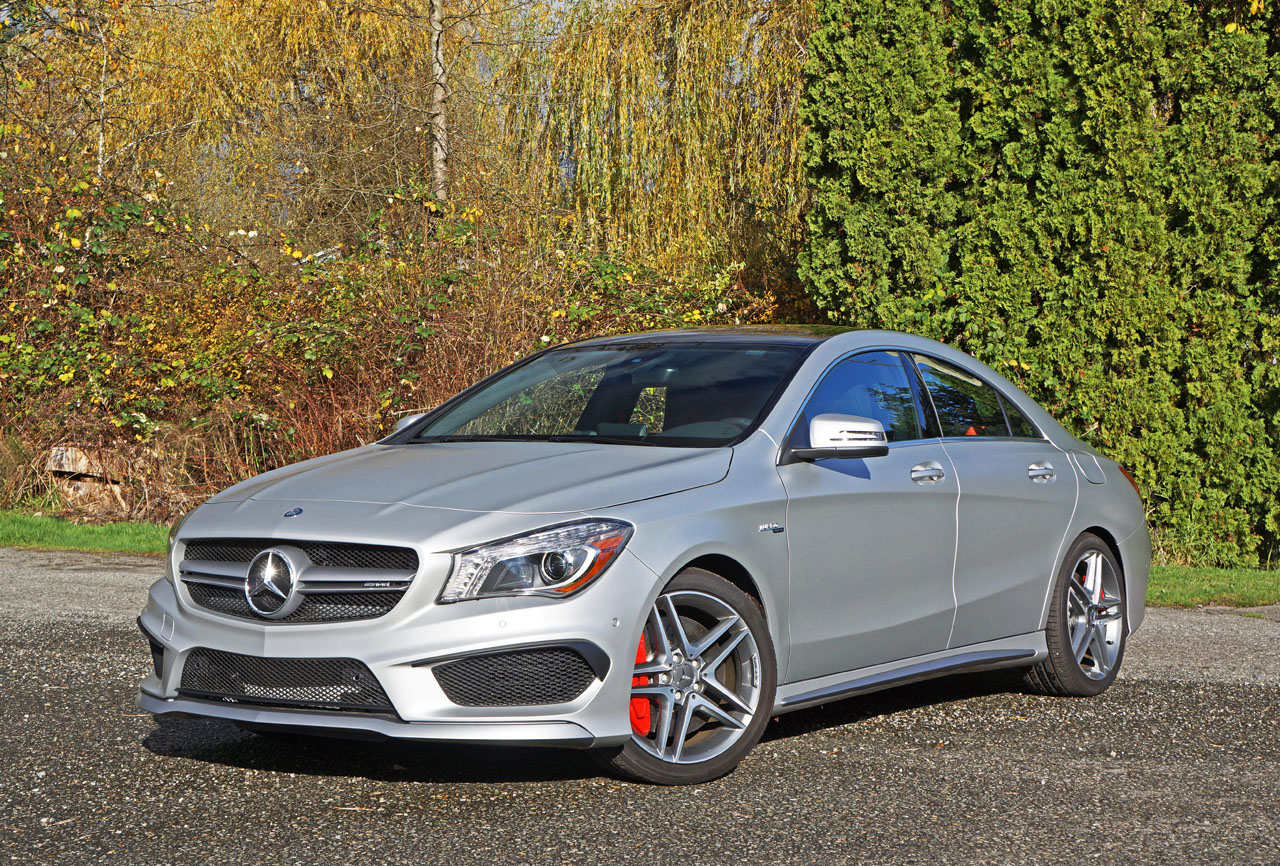 2016 mercedes benz cla45 amg 4matic coupe road test review for Mercedes benz 4matic meaning
