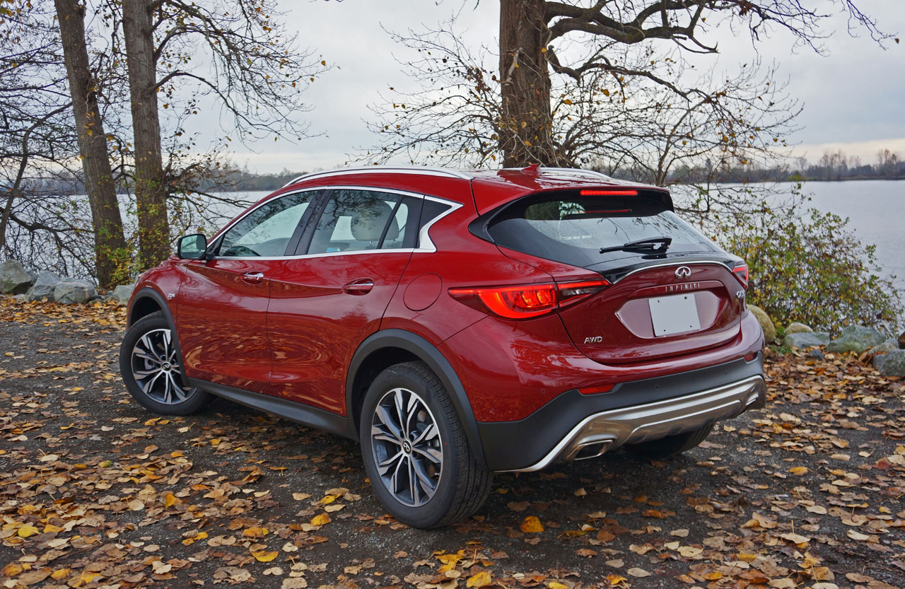 2017 infiniti qx30 premium awd road test review the car magazine. Black Bedroom Furniture Sets. Home Design Ideas