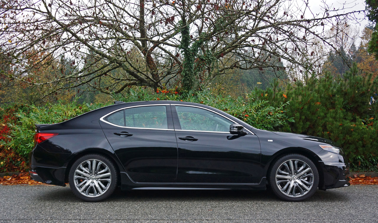 2017 acura tlx sh awd tech a spec road test review the car magazine. Black Bedroom Furniture Sets. Home Design Ideas