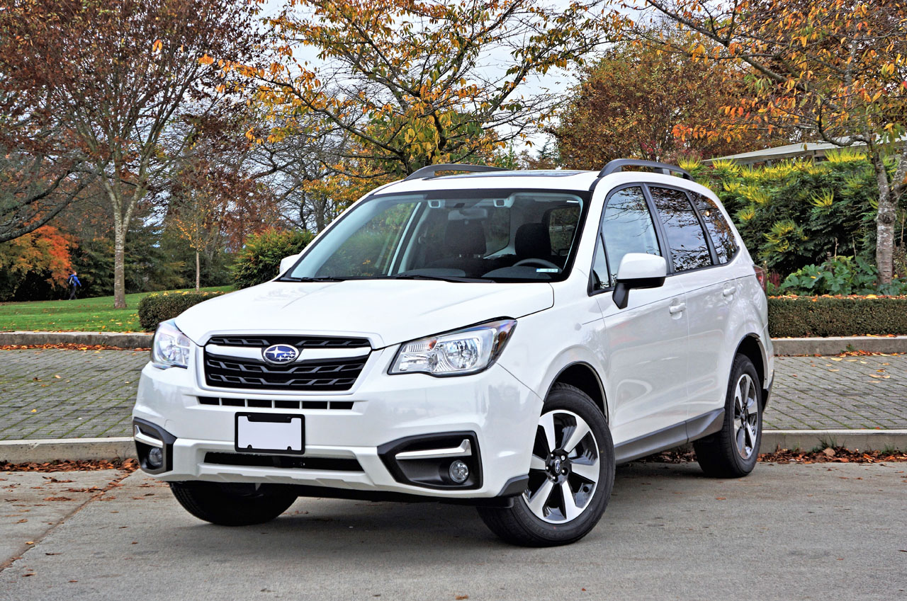 2017 subaru forester touring road test review the car magazine. Black Bedroom Furniture Sets. Home Design Ideas