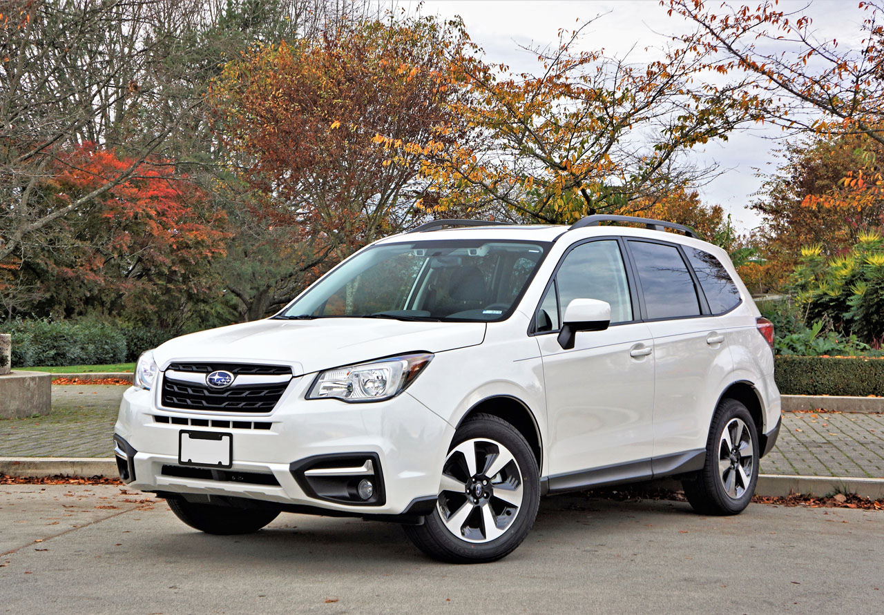 2017 Subaru Forester 2.5i Touring Road Test Review | The ...