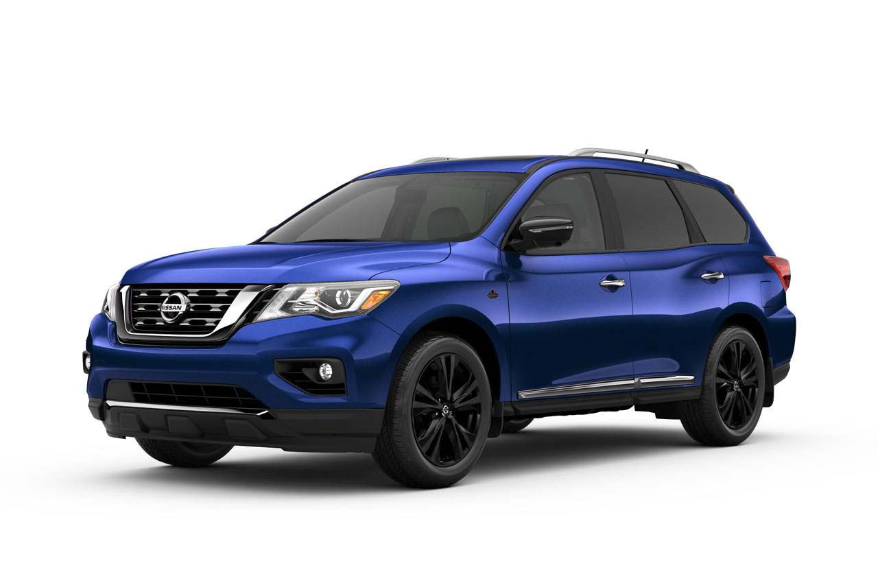 nissan canada offers pathfinder platinum midnight edition to celebrate 30 years the car magazine. Black Bedroom Furniture Sets. Home Design Ideas