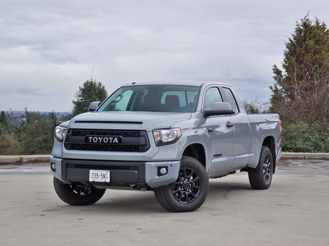 2017 toyota tundra double cab trd pro the car magazine. Black Bedroom Furniture Sets. Home Design Ideas