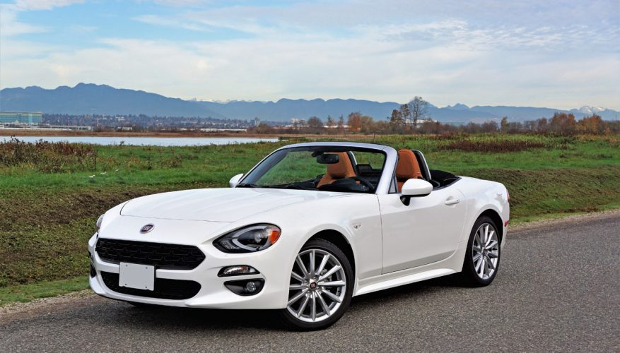 2017 fiat 124 spider lusso road test the car magazine. Black Bedroom Furniture Sets. Home Design Ideas