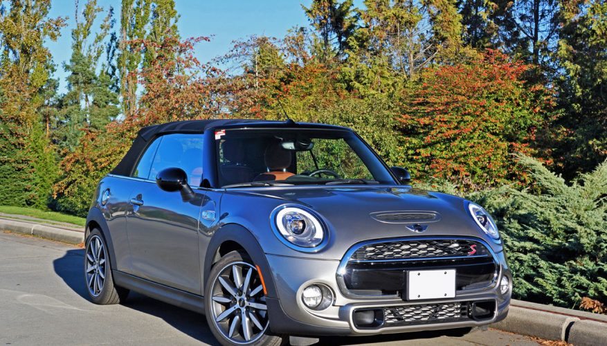 2017 Mini Cooper S Convertible Road Test