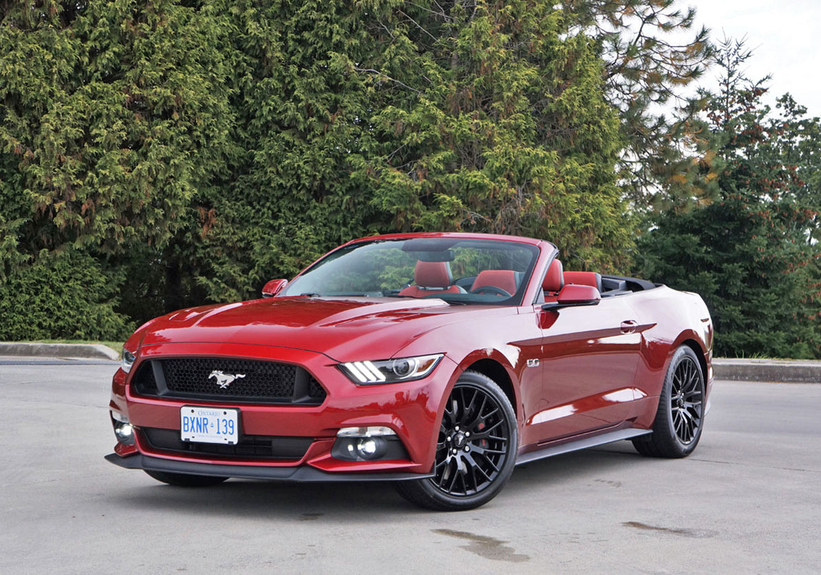 2017 ford mustang gt convertible the car magazine. Black Bedroom Furniture Sets. Home Design Ideas