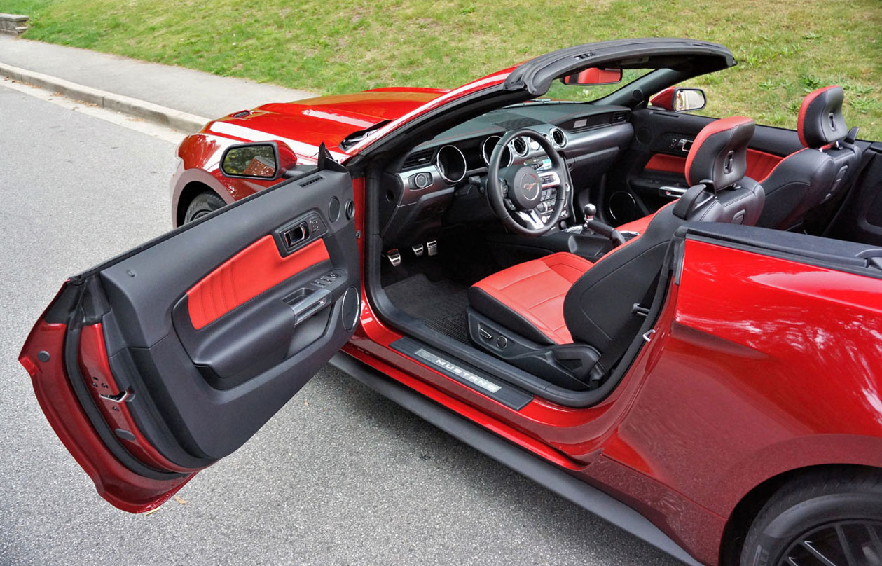 2017 ford mustang gt convertible 8