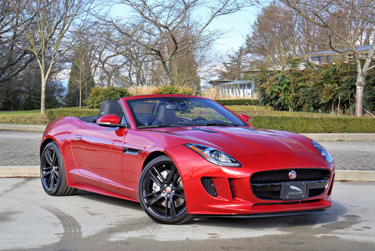 2017 jaguar f type convertible the car magazine. Black Bedroom Furniture Sets. Home Design Ideas