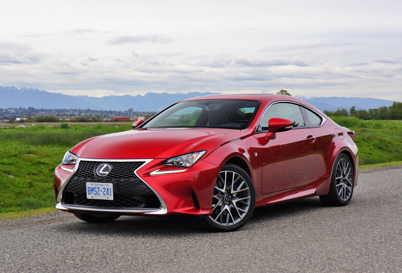 2017 lexus rc 300 awd f sport review the car magazine. Black Bedroom Furniture Sets. Home Design Ideas
