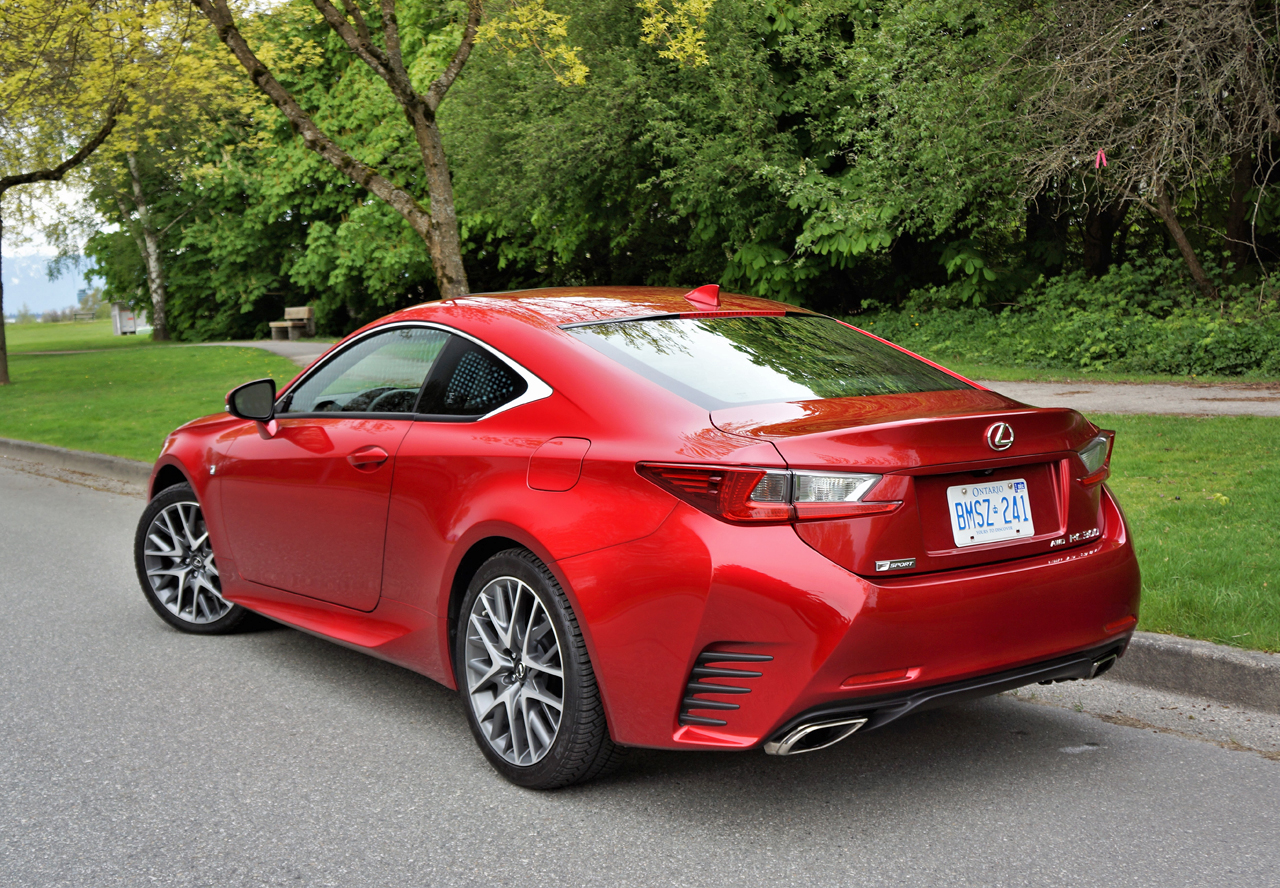 2017 lexus rc 300 awd f sport review | the car magazine