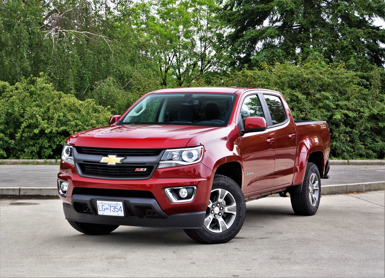 2017 Chevrolet Colorado Z71 Crew Cab 4wd The Car Magazine