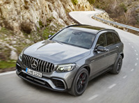 2018 Mercedes-AMG GLC 63 S 4Matic+ SUV