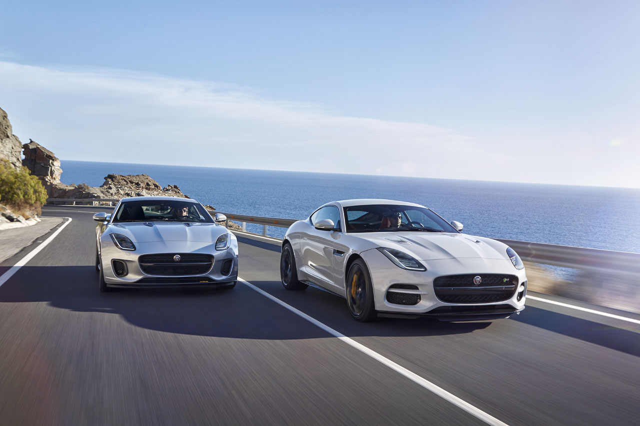 2018 Jaguar F Type Gets 296 Hp Turbo Four And $10k Price Cut