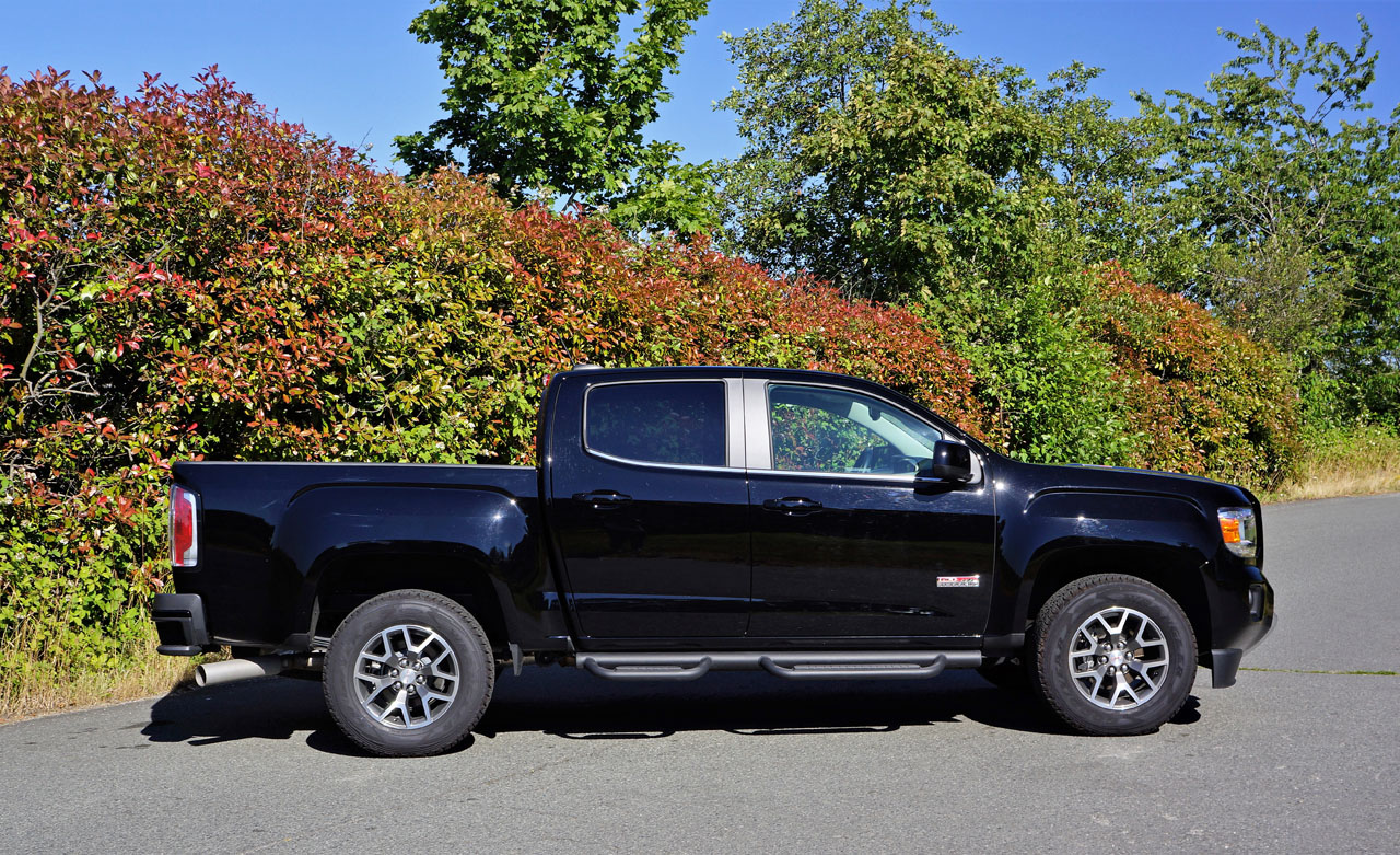 2017 gmc canyon 4wd crew cab sle the car magazine. Black Bedroom Furniture Sets. Home Design Ideas