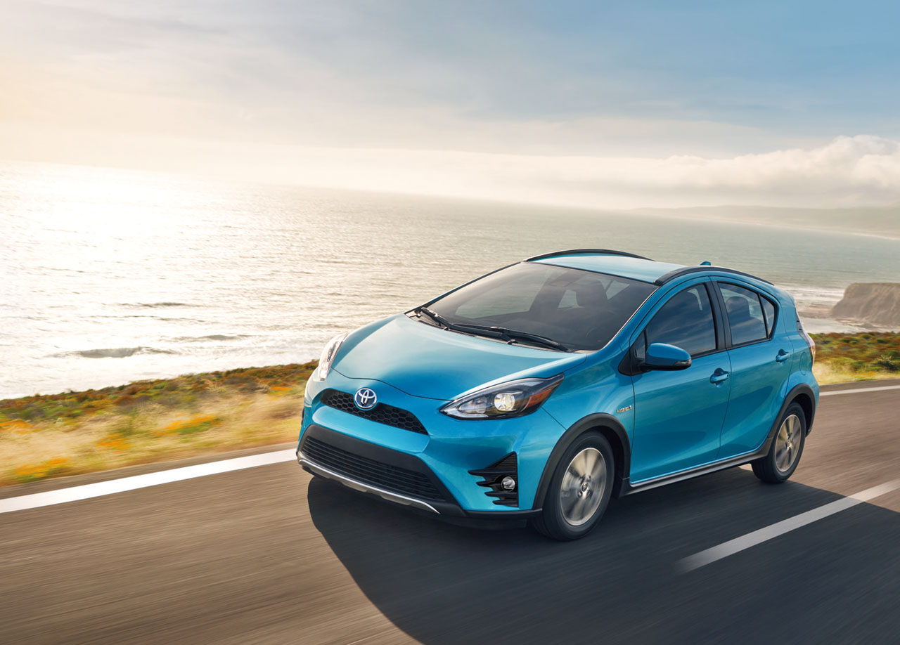 toyota prius c gets updates for 2018 the car magazine. Black Bedroom Furniture Sets. Home Design Ideas