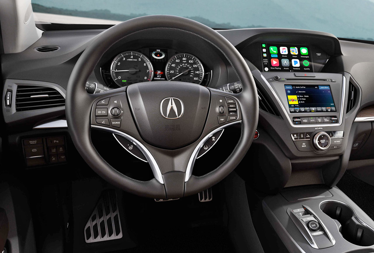 Acura Adds Le Carplay And Android Auto To 2018 Mdx