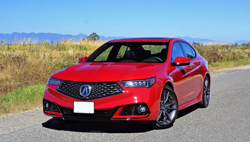 2018 Acura Tlx Sh Awd Elite A Spec Road Test The Car Magazine