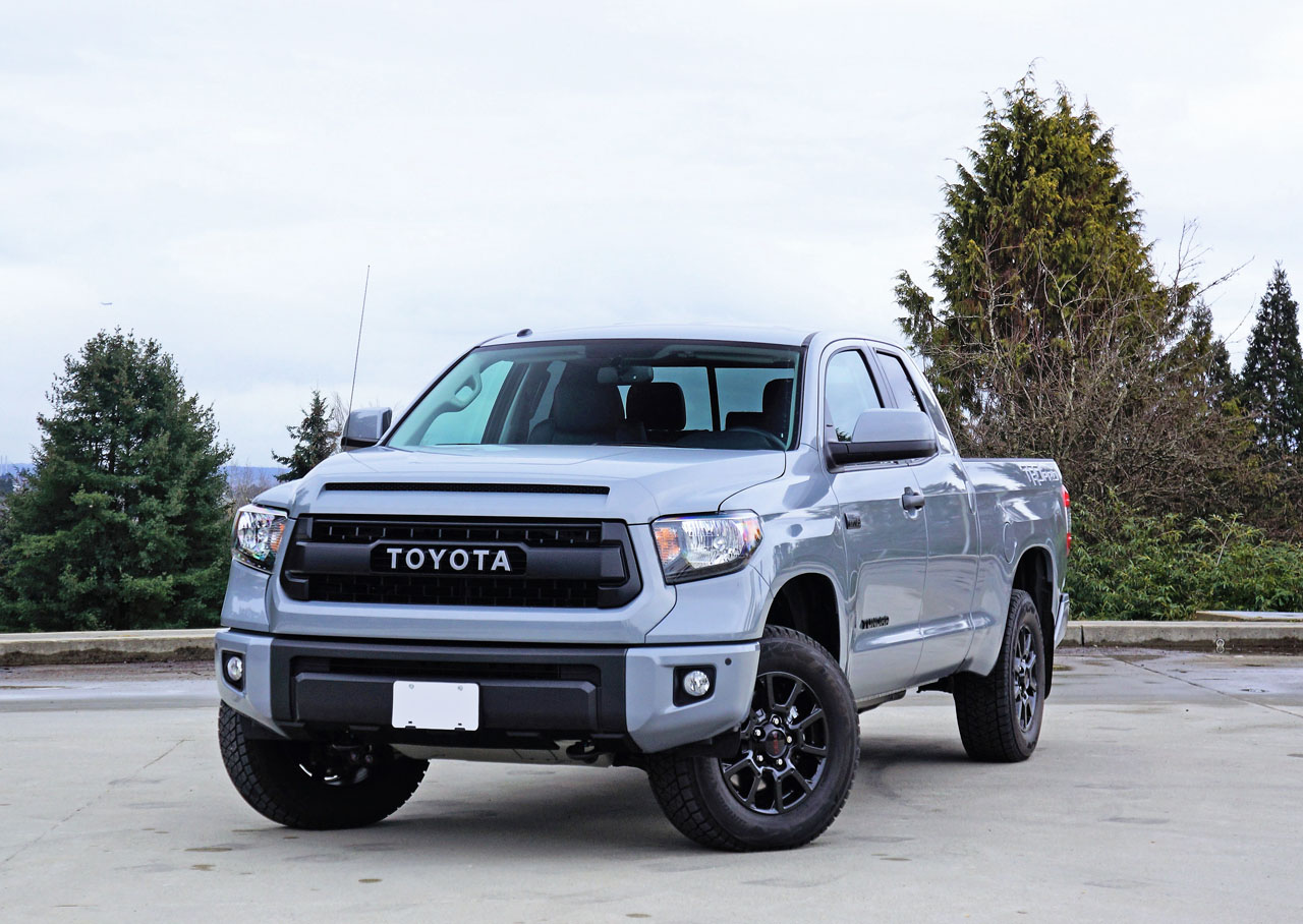 2017 toyota tundra double cab trd pro road test the car. Black Bedroom Furniture Sets. Home Design Ideas