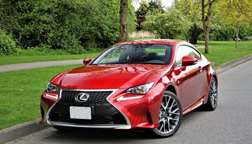2017 Lexus RC 300 AWD F Sport Road Test