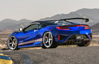 2017 Acura NSX ScienceofSpeed Dream Project