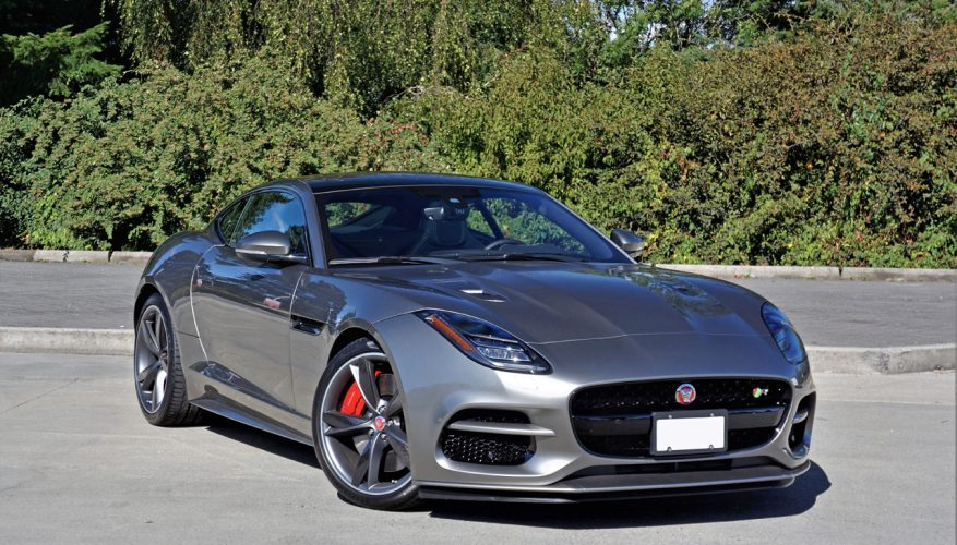 2018 Jaguar F Type R Coupe Road Test