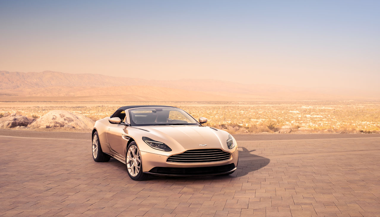DB Volante To Arrive In April The Car Magazine - Aston martin dealerships
