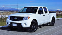2018 Nissan Frontier Crew Cab Midnight Edition