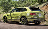 2018 Bentley Pikes Peak Bentayga