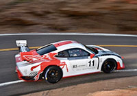 Jeff Zwart in a Porsche 935 tribute at the 2020 Pikes Peak International Hill Climb