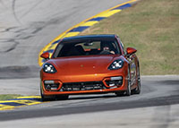 2021 Panamera Turbo S breaks production sedan lap record at Road Atlanta racetrack