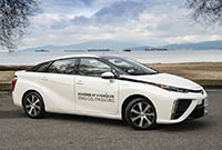Toyota to supply Mirai fuel-cell cars to Lyft Canada