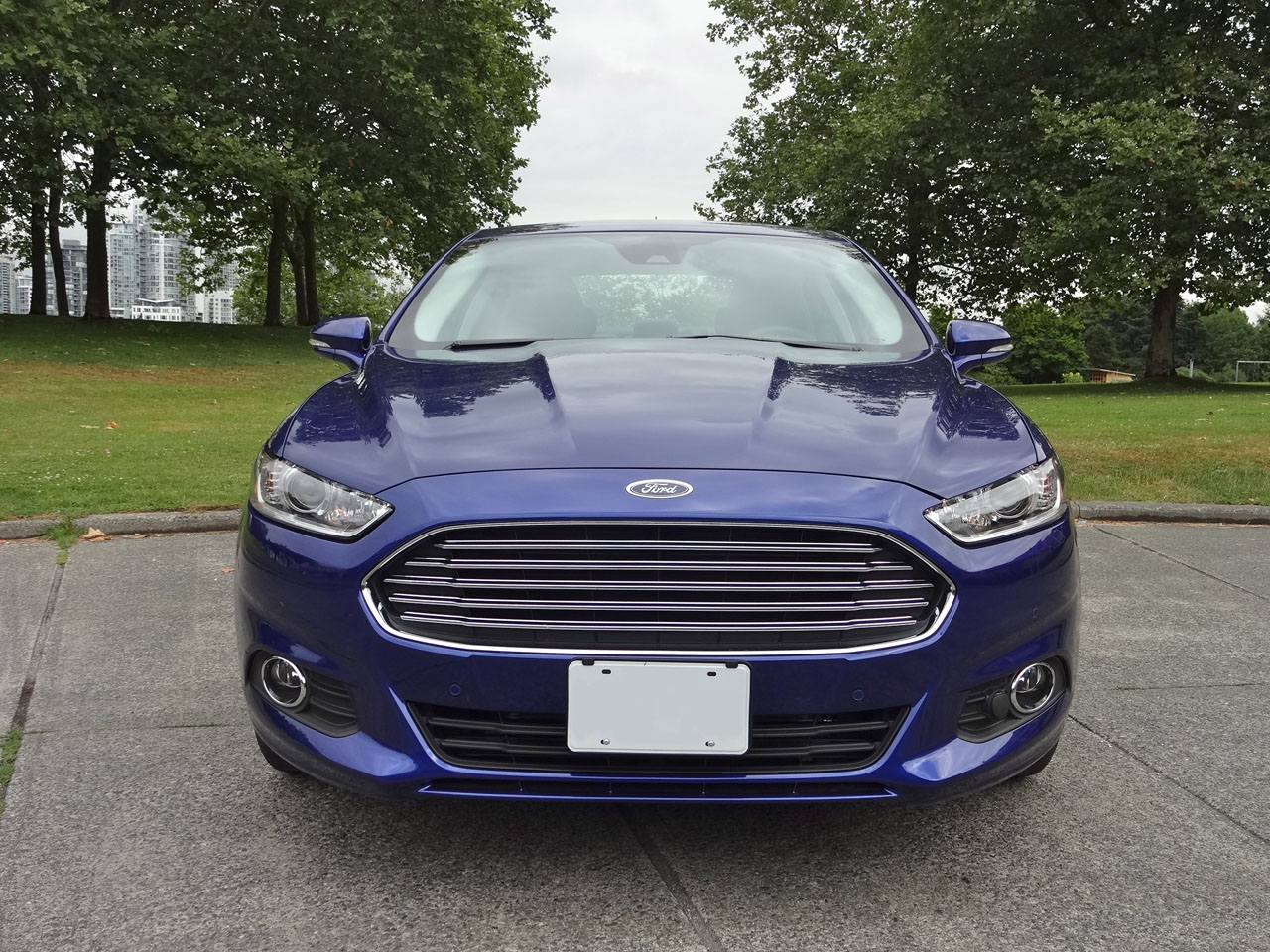fusion ford hybrid se road test ground leasebusters