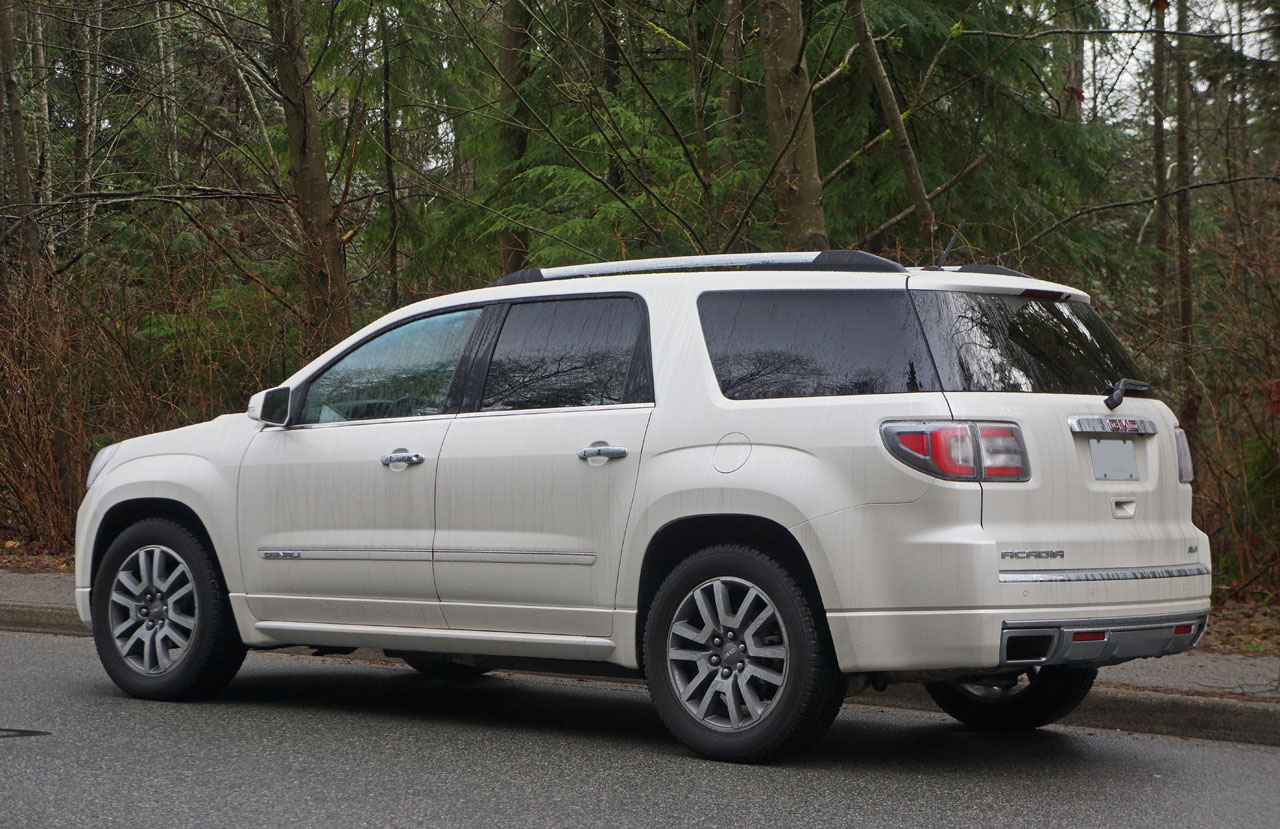 2014 GMC Acadia Denali Road Test Review   The Car Magazine