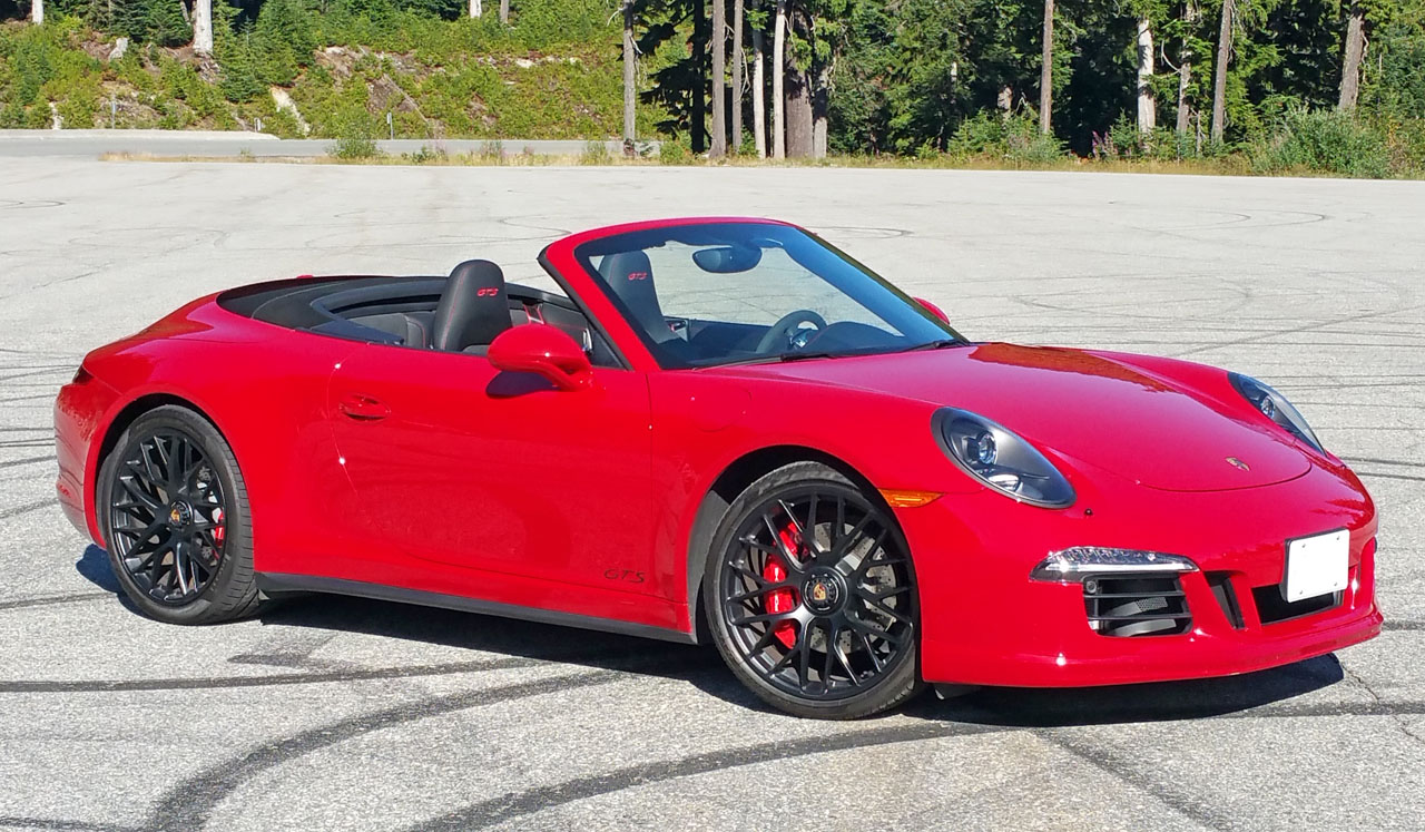 2015 Porsche 911 Carrera 4 Gts Cabriolet Road Test Review The Car Magazine