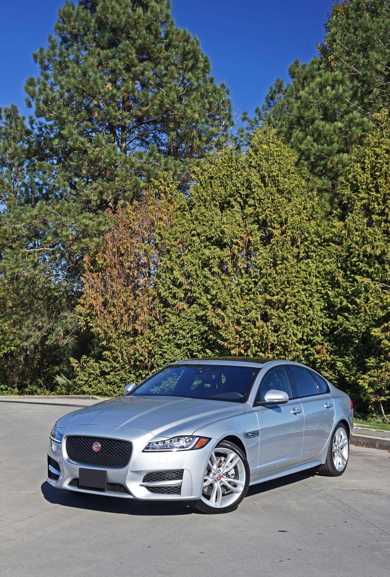 awd xf 35t jaguar test sport road